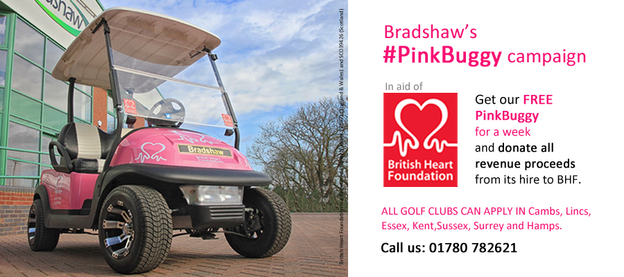 Bradshaw's Pink Buggy Campaign