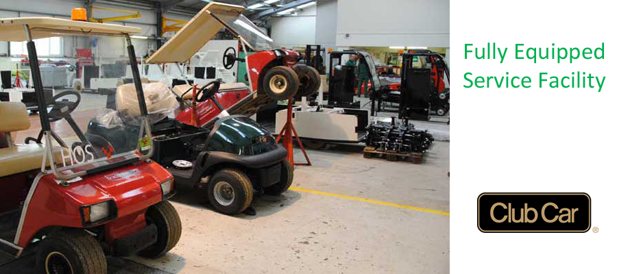 Golf Buggy Service Facility